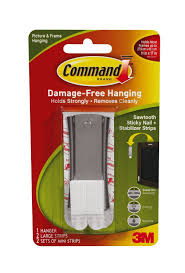 Command Strip Coat Rack Command Sticky Nail Sawtooth Hanger 100Pound 100 Pack Amazon 58