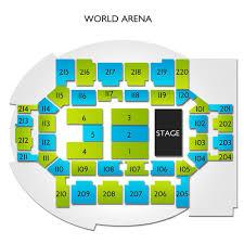 Broadmoor Arena Seating Chart Broadmoor World Arena 2019 Seating Chart