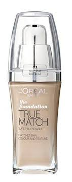 l oreal true match super blendable makeup spf 17