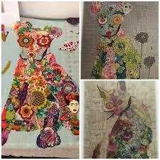 Beginning Fabric Collage Mini Quilt &  Adamdwight.com
