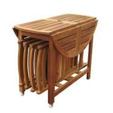 folding balcony table and chairs
