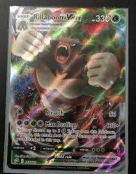 Check spelling or type a new query. Rillaboom Vmax Full Art Holographic Rare Pokemon Card Mint Ebay