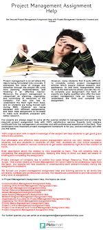 project management assignment help piktochart visual editor
