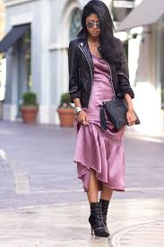 90s slip dress 90s fashion doma leather jacket sam edelman margo boots h m black clutch 90s fashion trend 251