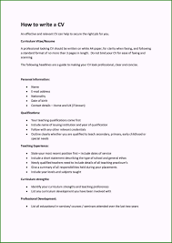 First Job Cv Amazing How To Make A Resume For Your First Job Examples For