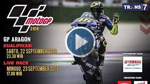 Watch your favorite channels show and get the latest in news and sports on watch tv live. Live Streaming Trans7 Motogp Aragon Spanyol Siaran Langsung Balapan Hari Ini Tribunstyle Com