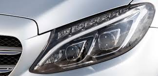 Intelligent Light System Optical Elements For Led Headlamps Made Of Plexiglas And