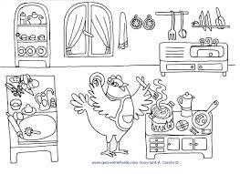 Gallery Of Cucina Cucina Da Colorare Disegni Di Cucina Copertina