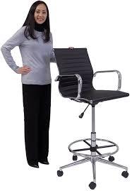 modern classic office stool w 23