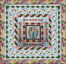 Spring Medallion - The Spacer Border - Lyn Brown's Quilting Blog & Spacer borders ... Adamdwight.com