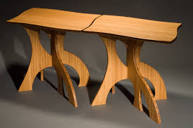 bamboo wood furniture. nesting side tables in bamboo contemporary modern hand crafted by seth rolland custom furniture wood i