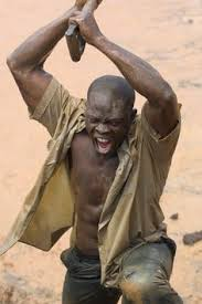 tata ndu versus price family as village chief tata ndu is wary  djimon hounsou in blood diamond