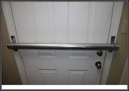 commercial security door. Door Security Bar Brackets Commercial