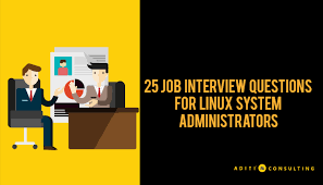Retail Interview Questions Enchanting 48 Job Interview Questions For Linux System Administrators Aditi