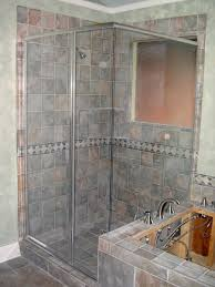beauteous bathroom decoration using various tile shower wall design captivating picture of bathroom decoration using