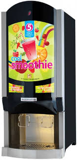 Smoothie Vending Machine Amazing Brasserie BIB Dispenser NT Cool Smoothie