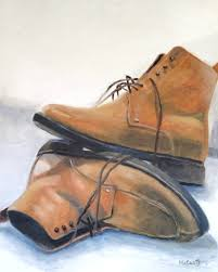 saatchi art artist kevin mccants painting tan boots art