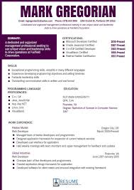 Free Resume Templet Best Free Resume Templates 100 Free Resume Templates 60