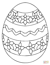 Egg Coloring Page At Getdrawingscom Free For Personal Use Egg