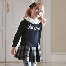 Комплект для <b>девочки</b>: платье, <b>свитер</b> Черный - <b>Майорал</b>