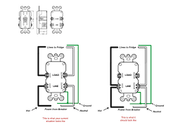 similiar gfi outlet diagram keywords outlet wiring diagram moreover switched gfci outlet wiring diagram