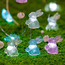Easter Lights Amazon Easter Decoration Lights Impress Life Rabbit Bunny Festive String Lights Battery Usb Cord Dual Power With Remote Multi Function For Indoor Outdoor