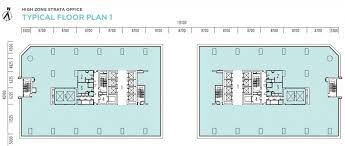 office floor layout. Modren Floor Q Sentral Floor Plan 1 To Office Layout