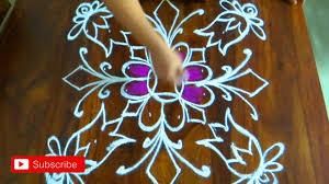 Said Design Muggulu New Muggulu For Sankranthi Festival Simple Kolam For
