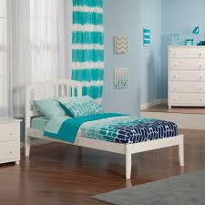 Atlantic Furniture Richmond White Twin Xl Platform Bed at Lowes.com