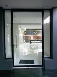 frameless pivot door