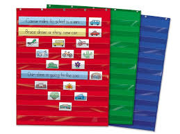 Learning Center Pocket Chart Heavy Duty Pocket Chart For The Classroom Or Learning