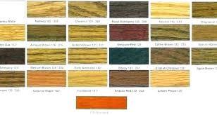 Oak Stain Color Chart Dark Stain Colors Iliketolearn Co