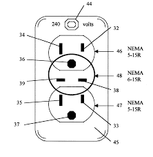 patent us split circuit volt adapter patents patent drawing
