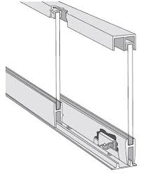thick small to med glass sliding doors