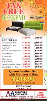 Appliances Memphis Tn A And A Furniture And Appliances Tax Free Weekend Shopping Ads