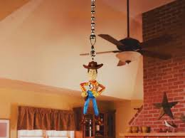 toy story andy cowboy woody ceiling fan pull light lamp chain decoration n26