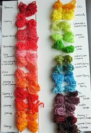 Kool Chart Kool Aid Yarn Color Chart Ahley Akers Flickr