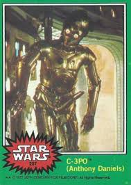 History Of The Obscene 1977 Topps Star Wars 207 C 3po