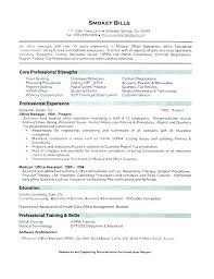 Office Admin Resume Stunning Office Administrator Resume Office Administrator Free Resume Medical