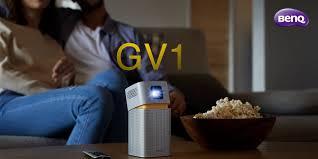 LED <b>проектор</b> BenQ GV1 с функцией Bluetooth-колонки