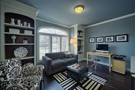 Contemporary Office Interior Design Ideas Best 48 Colorful Ways To Enliven Your Gray Home Office