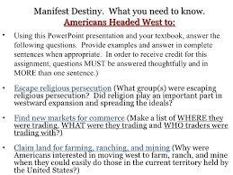 destiny essay conclusion manifest destiny essay conclusion
