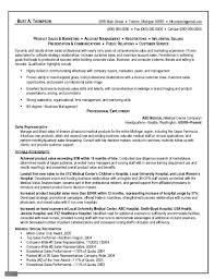 Objective For Sales Associate Resume Objective Sales Representative Resume
