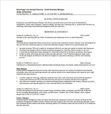 Business Resume Template Enchanting Free Business Resume Template Correiodigital