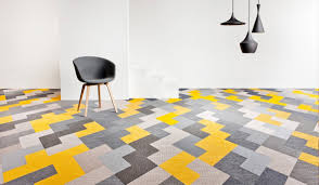Wing is floor tile in the collection of Bolon Studio from Bolon, using  contemporary woven vinyl floor tiles that lets you create your own custom  suit.