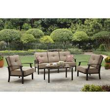 better homes and gardens cadence wicker outdoor sectional sofa set walmart