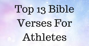 Christian Quotes For Athletes Best of Top 24 Bible Verses For Athletes ChristianQuotes