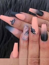 30 Trending Orange Blended Nail Art Designs For 2018 Nails