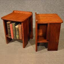 small cabinet bookcase side tables
