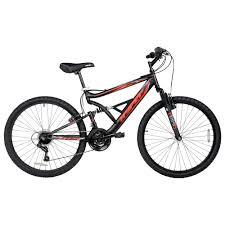 Hyper 26 shocker men's dual suspension mountain bike black